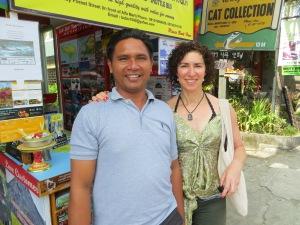 Me and 'Wayan-allaways-working'.